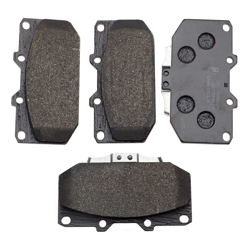 Fits Subaru Fits Nissan Front Brake Pads Sumitomo Sys Low-Metallic NAO By Eicher