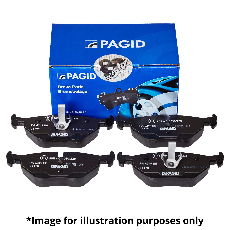 GENUINE PAGID REAR AXLE BRAKE PAD SET BRAKE KIT BRAKE PADS FOR Fits BMW 1