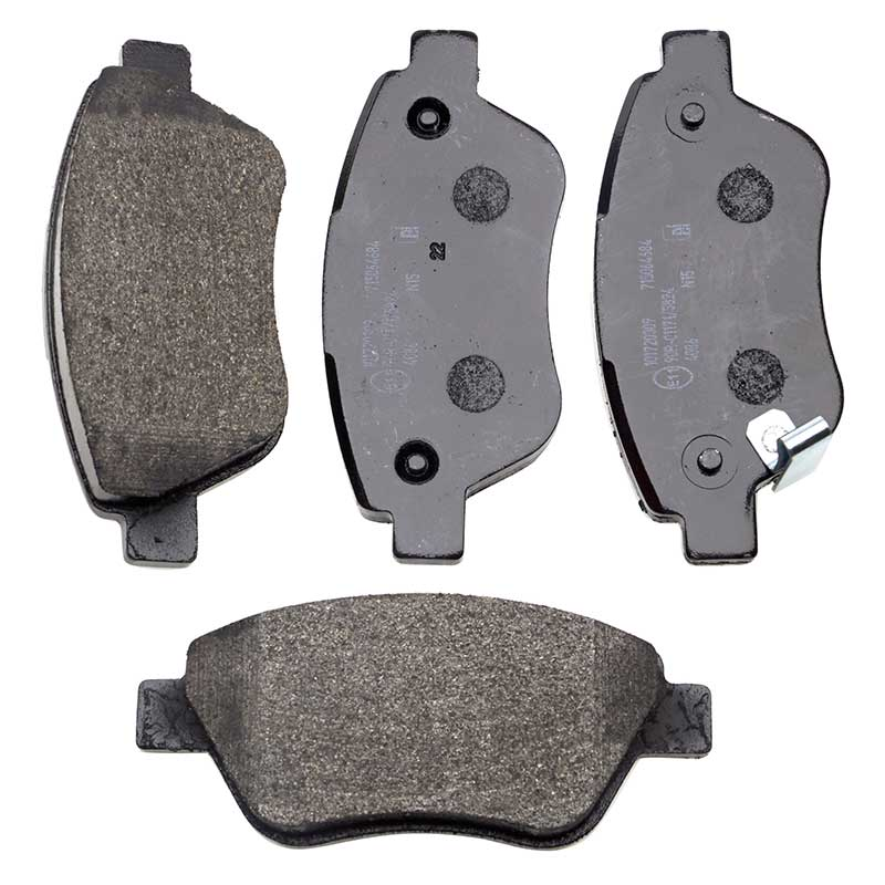 VAUXHALL OPEL Front Brake Pads Set Bosch System Low-Metallic NAO By Eicher
