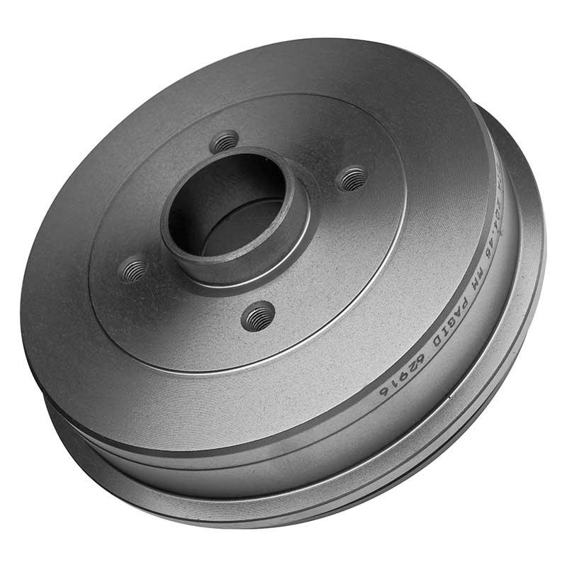 Pagid LD30479-P Kit de Tambores de Freno Trasero Derecho Izquierda Par 203.3 mm x2 Tambor de freno de mano