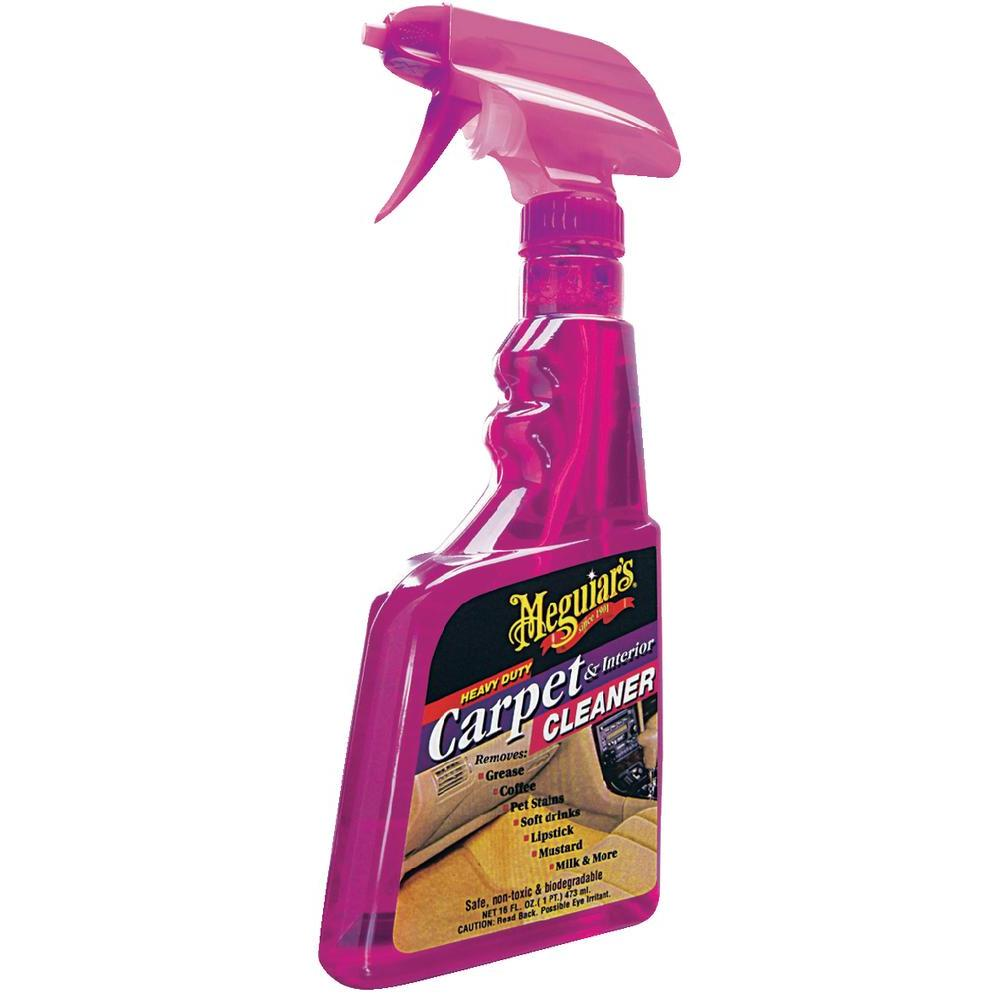 Meguiars Carpet & Interior Cleaner 473ml G9416 Upholstery Removes ...