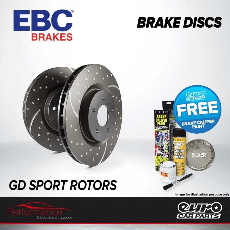 ebc gd rear performance brake discs x2 pair 310mm vented grooved dimpled gd1458 eur 145 57. Black Bedroom Furniture Sets. Home Design Ideas