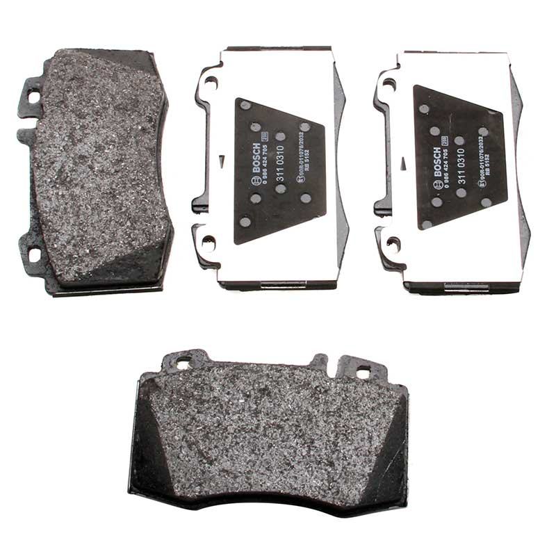 Bosch 0986 424 705 Front Right Left Brake Pad Set 4x Replacement Pads