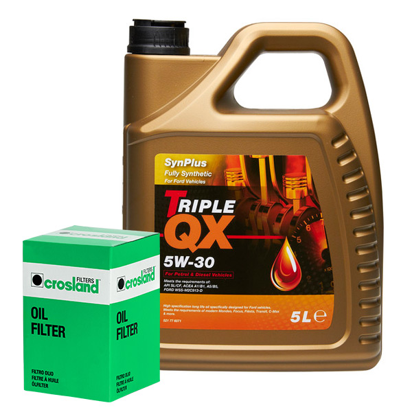 Triple-QX-Fully-Synthetic-Plus-Ford-5W30-Engine-Oil-5L-and-Oil-Filter-Service-Ki