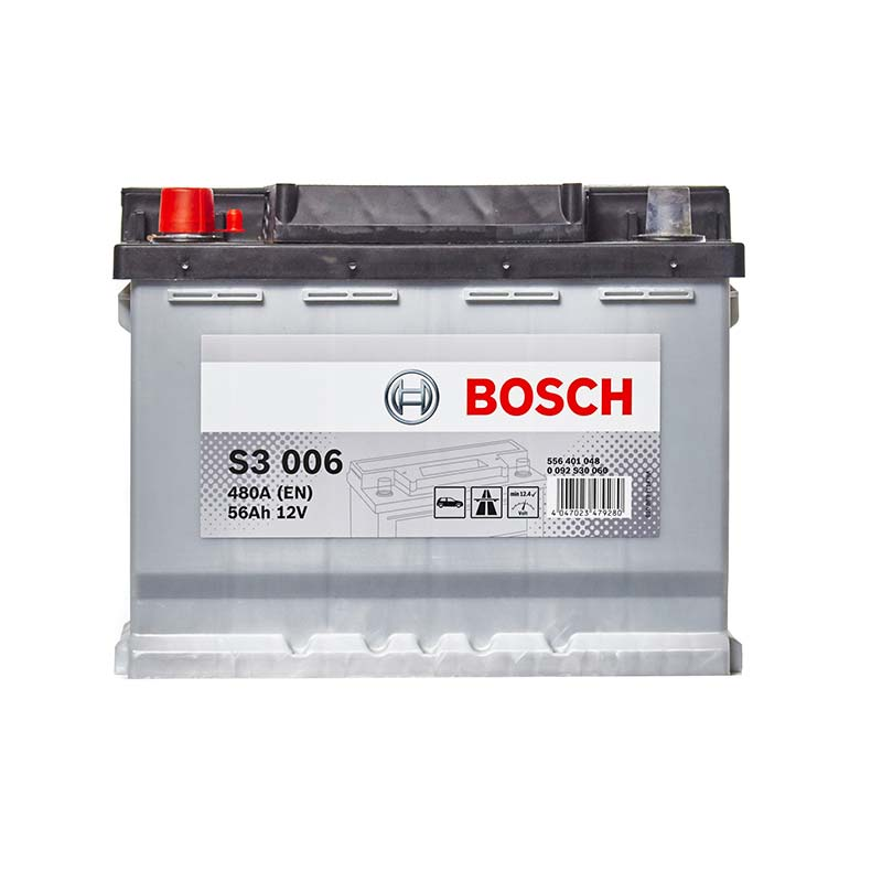 S3 006 Bosch New Car Battery 12V 56Ah Type 078 S3006