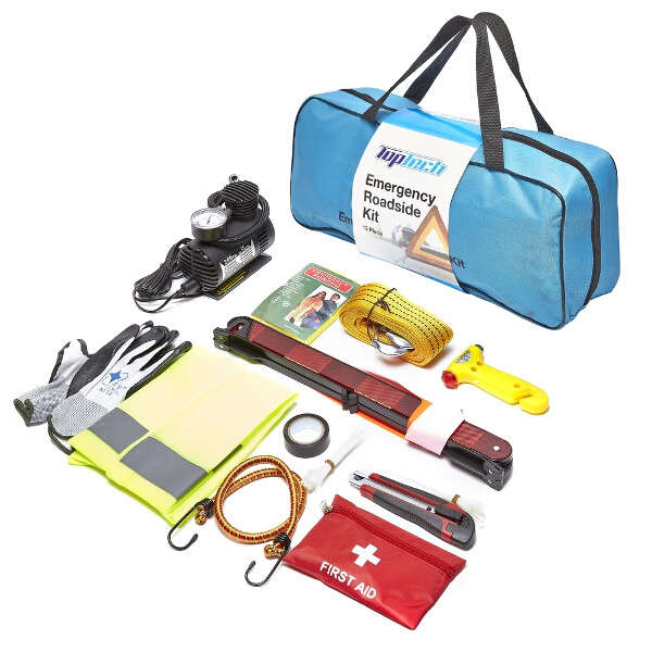 Top-Tech-12-pc-Pieces-Car-Breakdown-Emergency-First-Aid-Roadside-Kit-Set