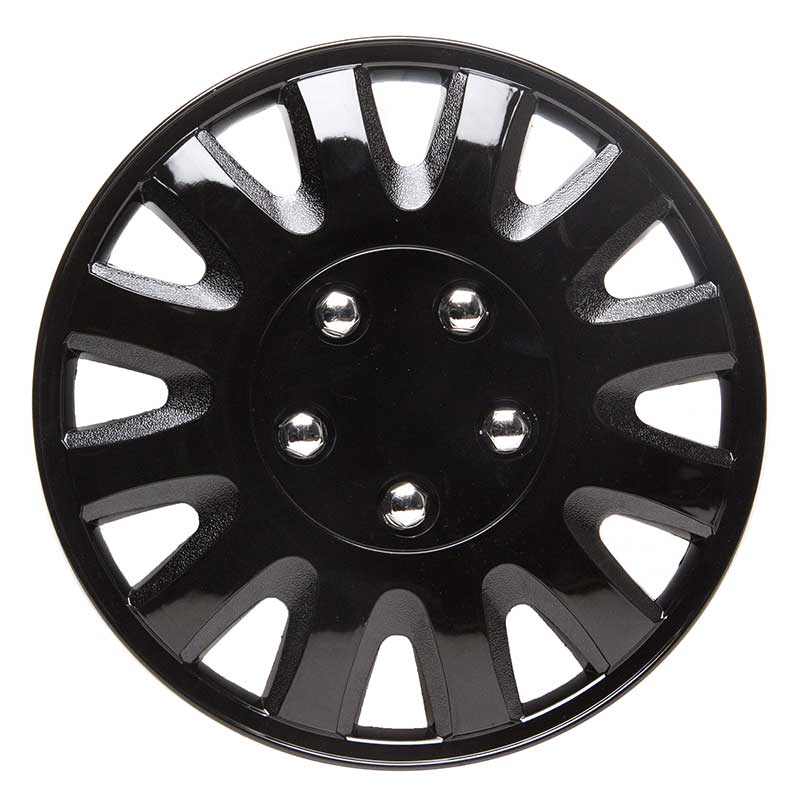 Details about TopTech Motion 14 Inch Wheel Trim Set Gloss Black Set of 4 Hub Caps Covers
