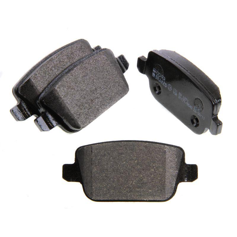 eicher rear brake pads (trw system) ford s-max 2.2 tdci 2.0 tdci 2.5