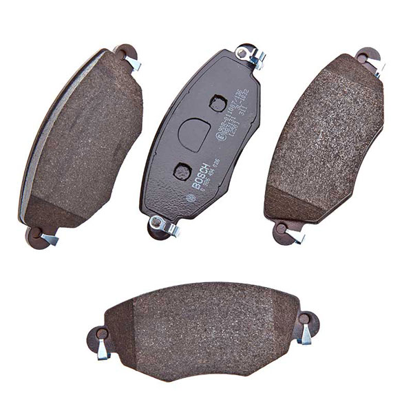 Eicher UK Rear Brake Pads// Pad Set Bosch System Ford Mondeo /& Jaguar X-Type