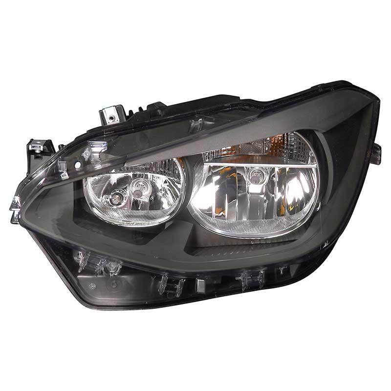 Hella Headlamp Headlight Halogen Left Passenger Side BMW 1