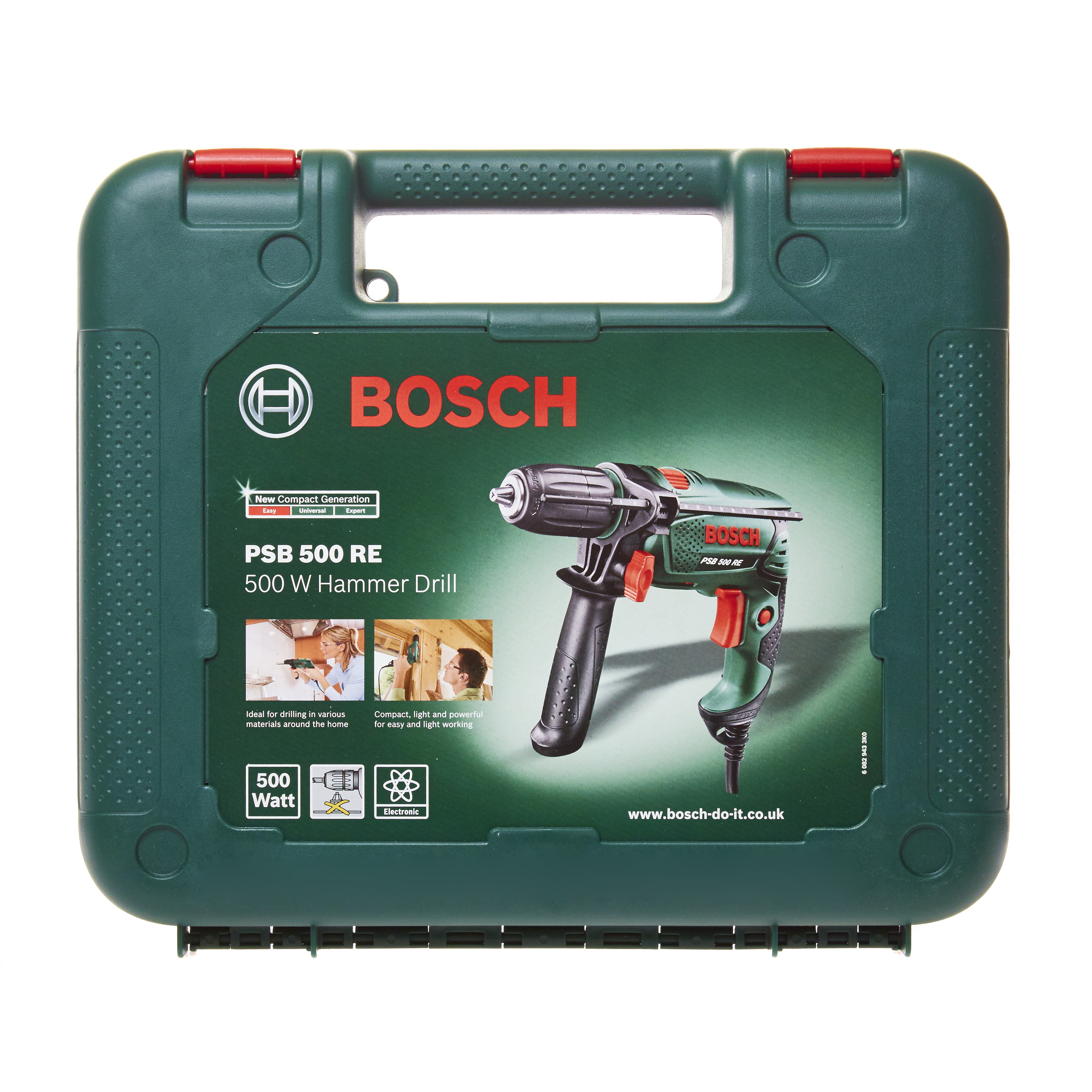 bosch psb 500 re compact hammer drill 500 watt motor speed pre
