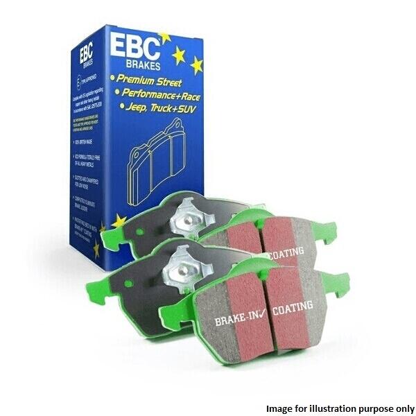 EBC Greenstuff vert Stuff Plaquettes de frein Avant Performance-dp2127