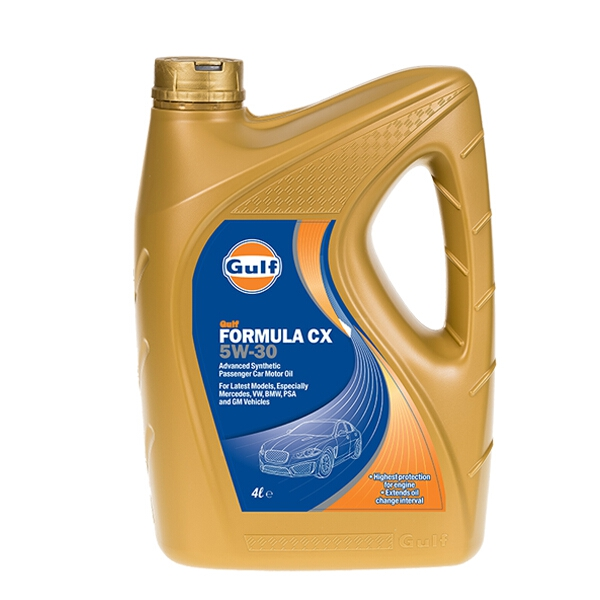 Details About Gulf Formula Cx Sae 5w30 4l Litres Car Engine Oil 4 Litre Advanced Synthetic