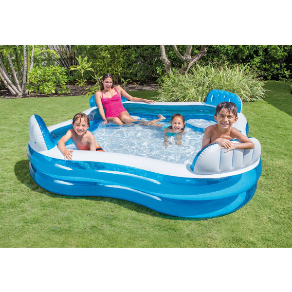 Swimming Pool Kits Direct: Intex 56475NP Swim Centre Family Lounge Paddling Pool 2