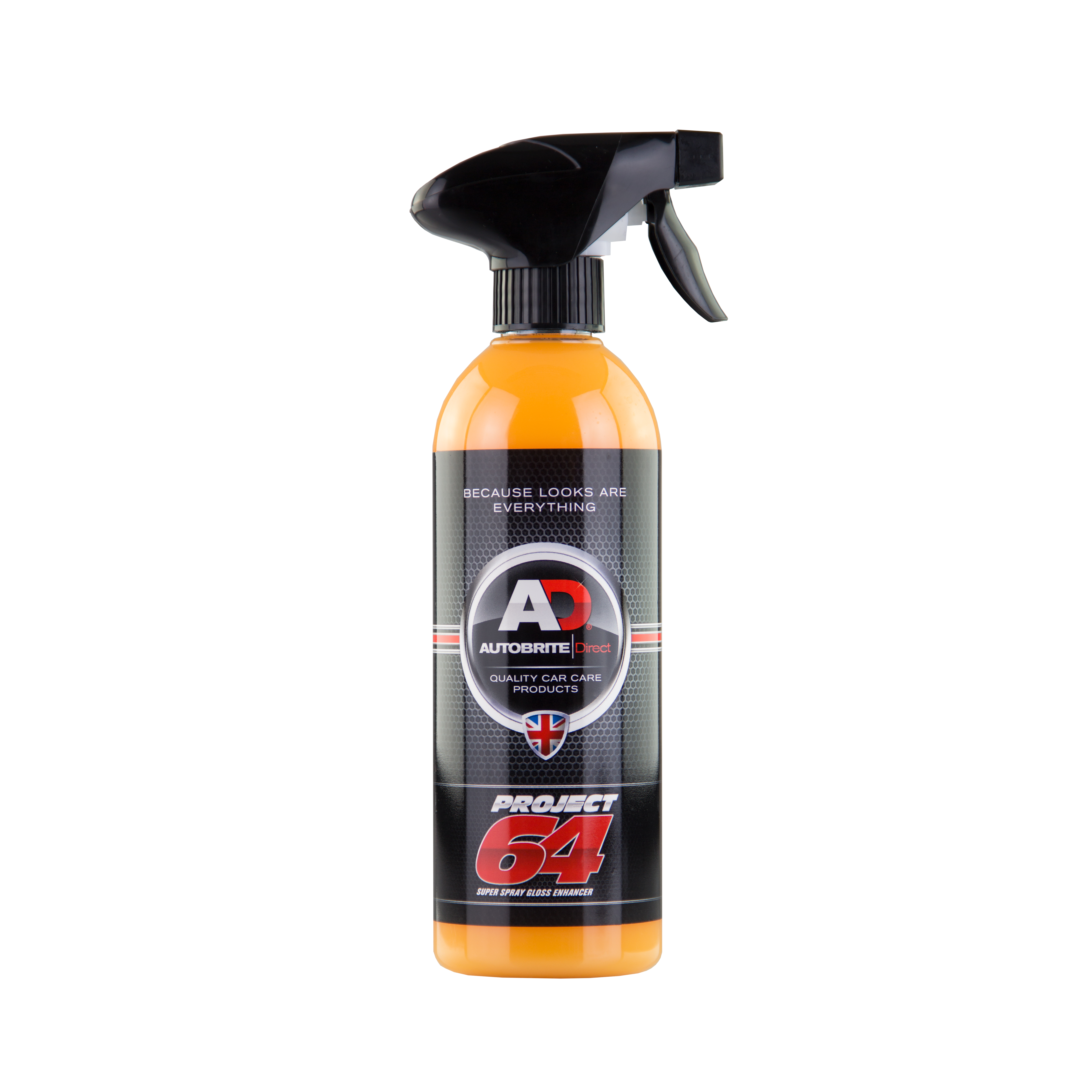Details about ADPRO64500M456 0 5L Project 64 Super Spray Gloss Enhancer  500ml Autobrite Direct