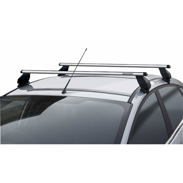Menabo AL2336026329 Tema Aluminium Aero Complete Roof Bar Set 130cm With Locks