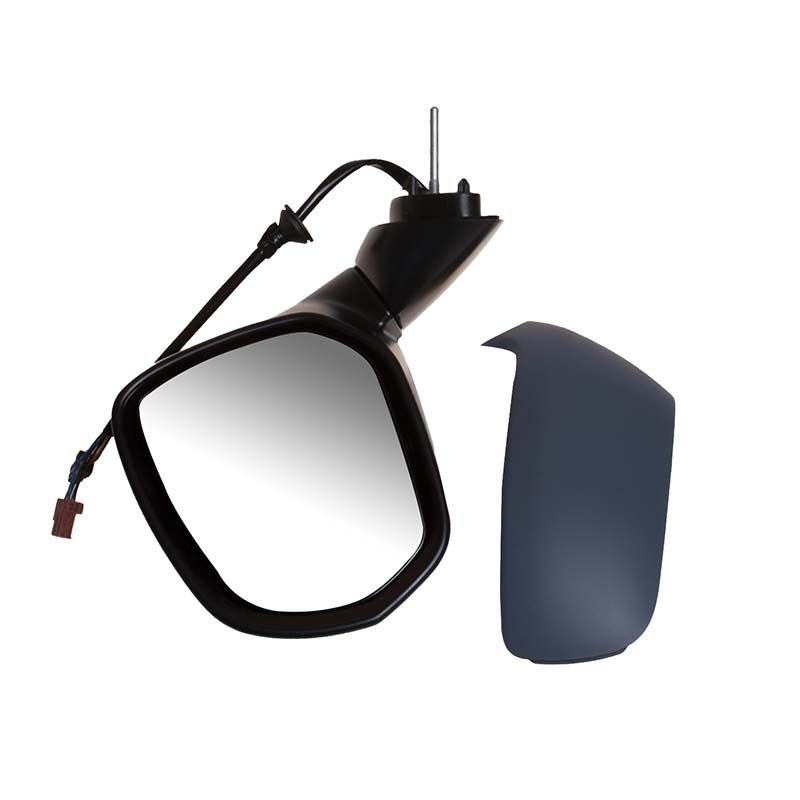 Left NS Nearside Passengers Side Primed Cable Door Wing Mirror Unit