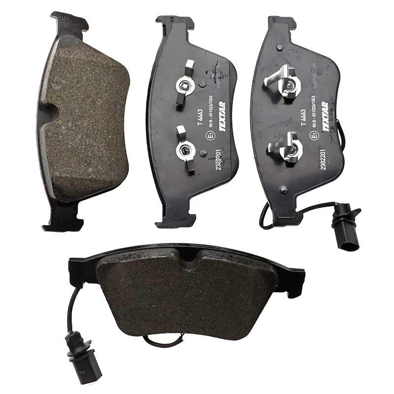 BENTLEY Front Brake Pads Teves System Low-Metallic NAO By Textar