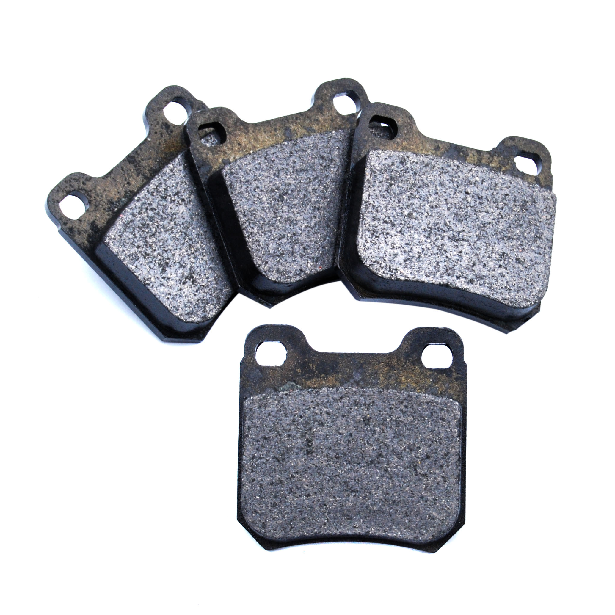 VAUXHALL SAAB OPEL Rear Brake Pads 61.64mm Width No Wear Warning Contact By ATE
