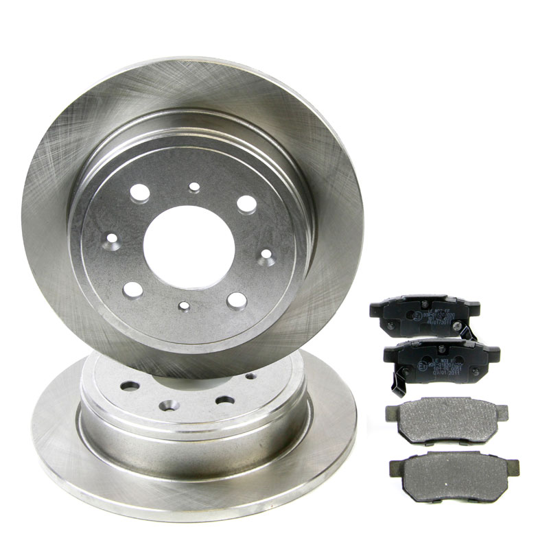 HONDA ACCORD Rear Brake Solid Discs Pads Brake Kit Akebono System By Pagid
