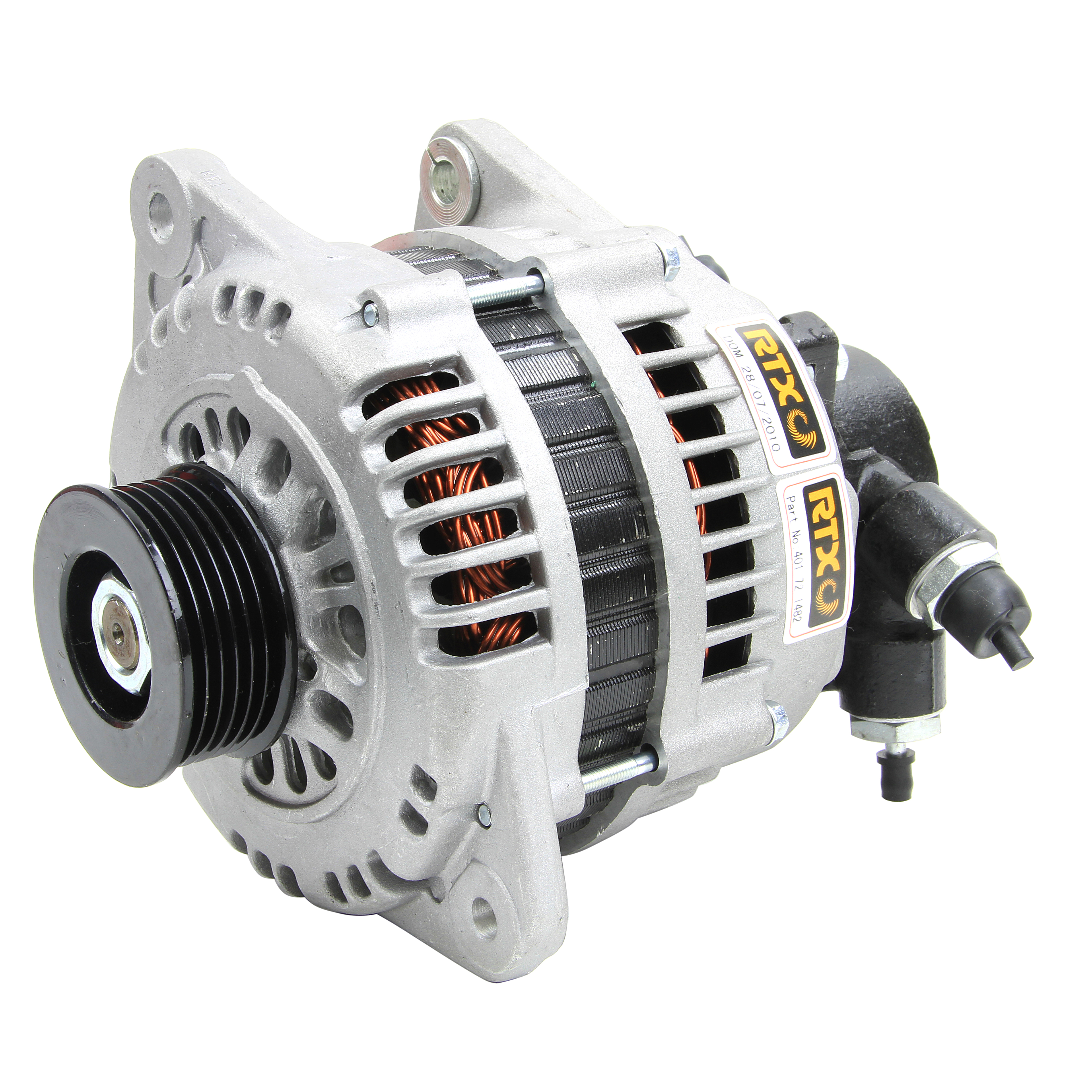 Car Engine Electrical Alternator 100a Amps Replacement Part Rtx