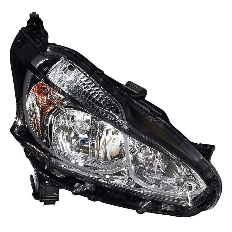 Peugeot 208 2012-On Hatchback Valeo Headlamp Headlight