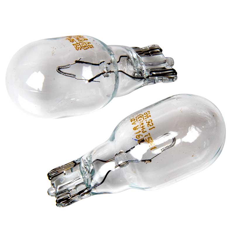 T16 9213R-02B Brake Light Bulbs 12V 2W Red Twin Osram Premium LED W16W 921