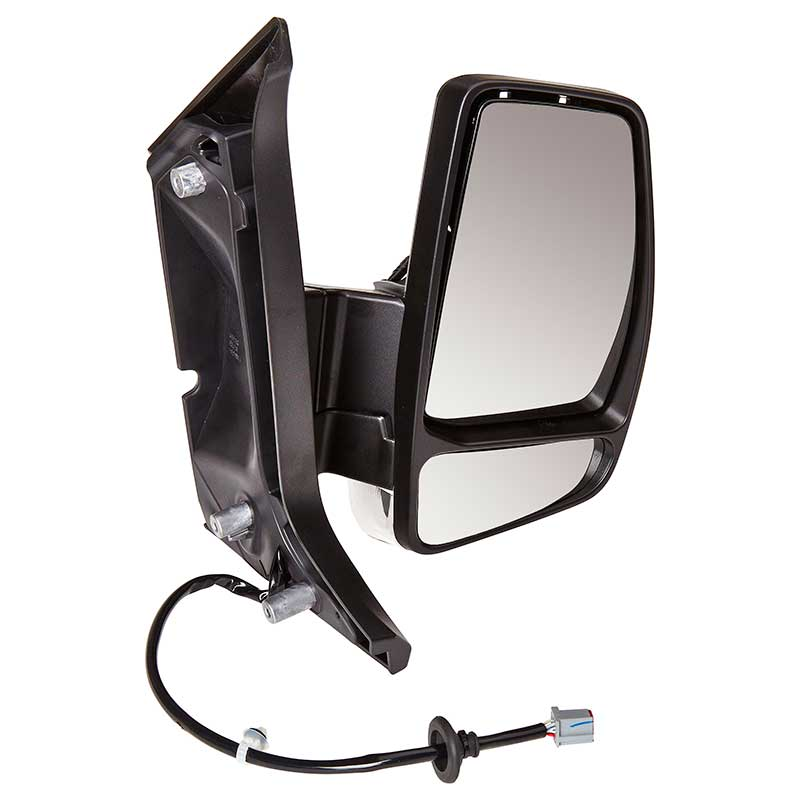 Left hand passenger side for Ford Transit 1994-1999 Flat wing mirror glass