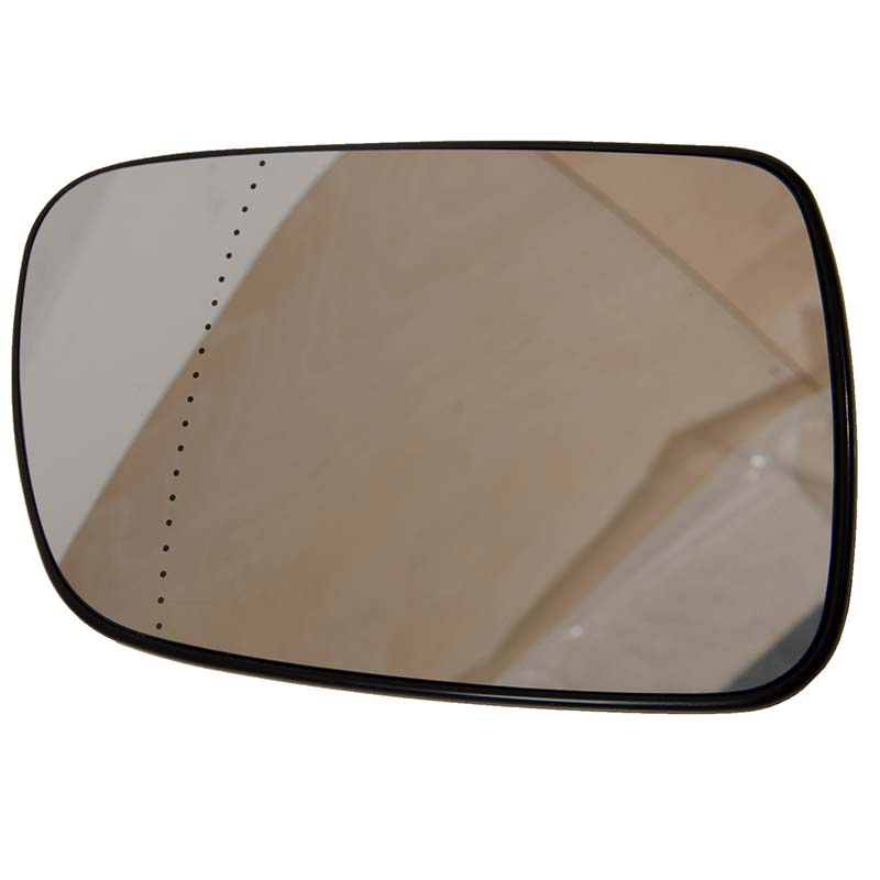 Right Driver Side WING DOOR MIRROR GLASS For Peugeot 307 2001-2008 Stick On