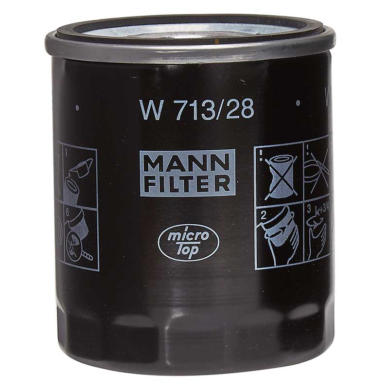 MG ZR 120 105 160 Mann Oil Filter Spin-On Type Performance Service Engine