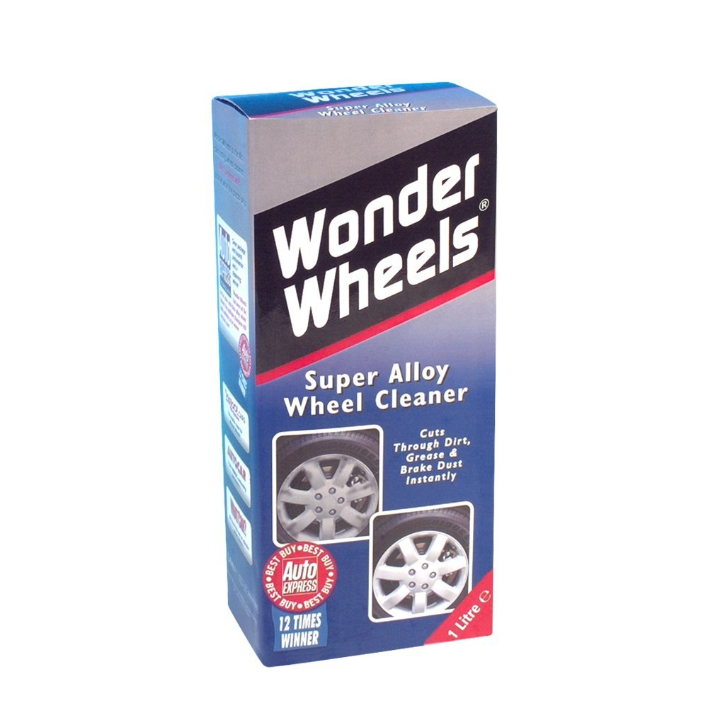 how to clean alloy wheels with household products