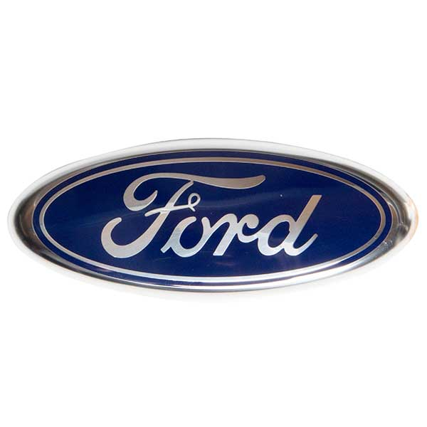 VM parte 1532603 Trasero hacer Insignia Azul Oval Ford B-Max 12-On C-Max 11-On Focus