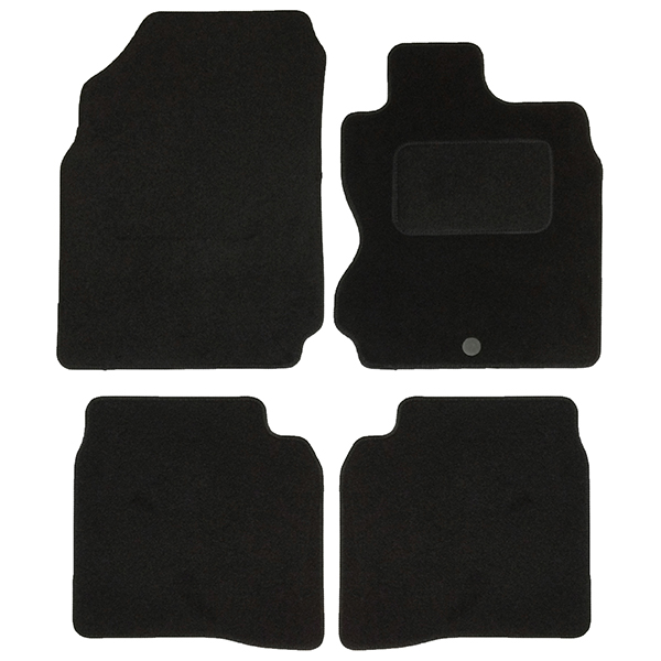 For Nissan Note 13-On Sakura Tailored Heavy Duty Rubber Floor Mat Set 4 Pieces