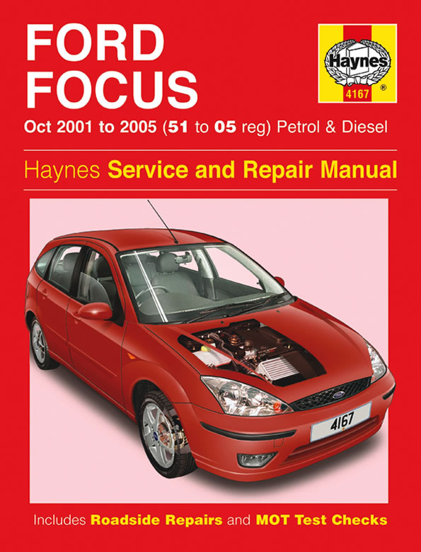 haynes workshop manual for ford focus petrol diesel 01 05 ebay rh ebay co uk Clymer Manuals Haynes Manual Pictures Back