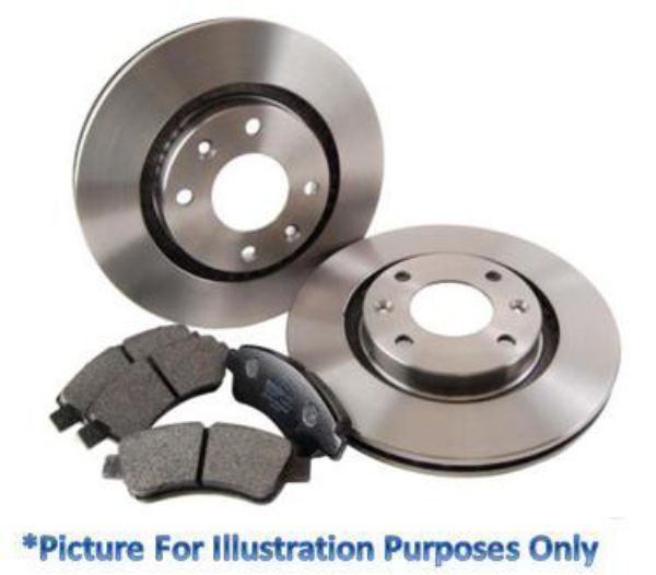 1996-01 E38 MINTEX FRONT DISCS AND PADS 324mm FOR BMW 740 4.4