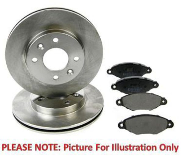 Details about VW Passat Golf - Eicher Front Brake Kit Pads Discs 288mm  Vented Teves ATE Sys