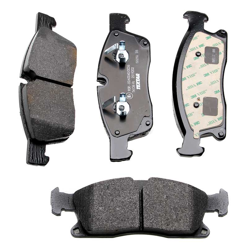 REAL IMAGE OF PART MINTEX REAR AXLE BRAKE PADS FOR MERCEDES-BENZ MDB2071